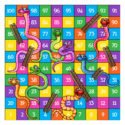 Snakes and Ladders with 1 major difference